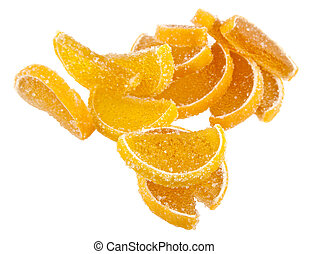 marmalade isolated on white background