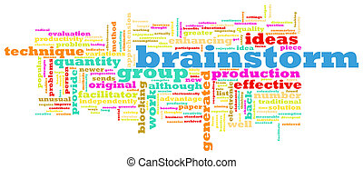 Brainstorming - A Brainstorming Session Concept as a...