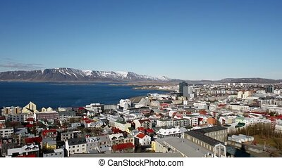 Reykjavik from above - City of Reykjavik, Capital of IceLand