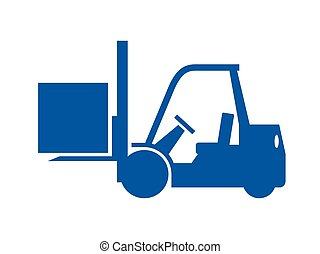 Forklift truck Clipart Vector and Illustration. 3,230 ...