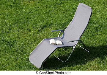 Deckchair - On vacation, there is nothing nicer than the...