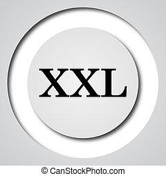 XXL icon Internet button on white background