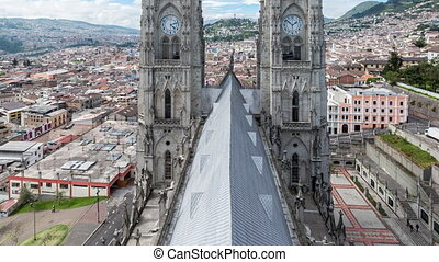 Quito Basilica Video - Time lapse video of the Basilica in...