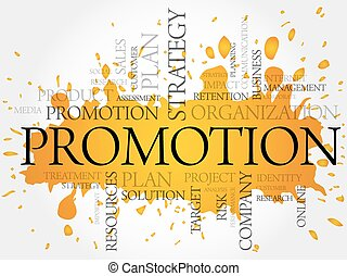 PROMOTION word cloud, business concept