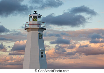 Lighthouse at Cape Spear - Working Lighthouse on the coast...