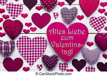 rosa, Corazones, textura, texto, Valentinstag, medios,...