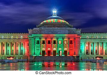 Puerto Rico Capitol Building - San Juan - Puerto Rico...