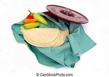tortilla, Wamer, y, Tortillas