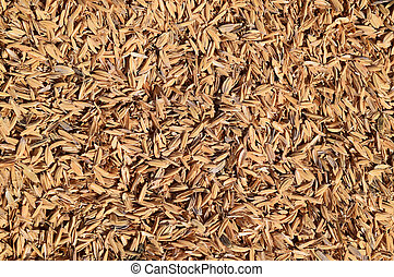 Rice peel Background - The detail of rice husks for...