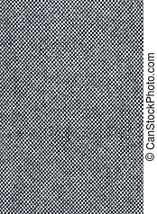 Linen tweed -background. - Gray and white linen tweed-...