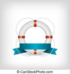 Life Buoy illustration