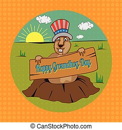 groundhog - Cards for Groundhog Day. Congratulations to the...