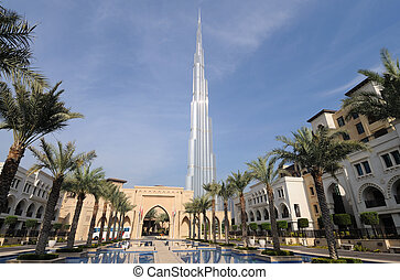 Highest Skyscraper in the World - Burj Dubai (Burj Khalifa),...