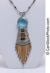 Hand Crafted Indian Necklace - Hand made indian necklace...