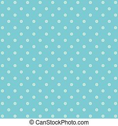 blue polka dot background pattern