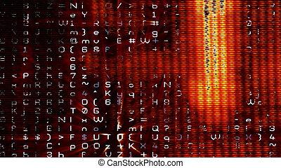 Futuristic Digital Tech Display 10692 - Futuristic digital...