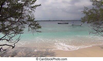 View on a tropical ocean