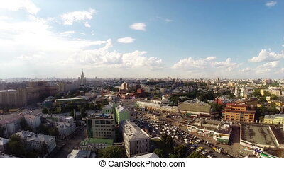 Tagansky district - Elevated view of the tagansky district...