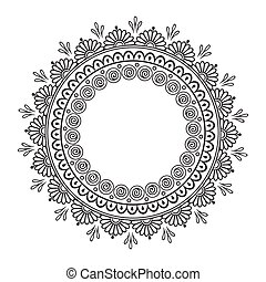 Coloring book pages ornament - Coloring book pages for kids...