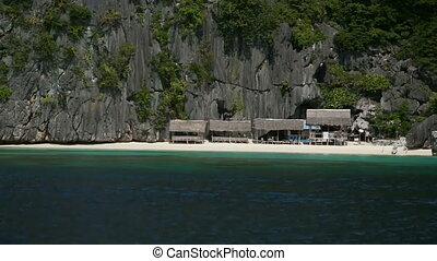 Wonderful lagoon in Palawan, Philippines - View from the...