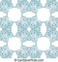 Seamless abstract pattern - Seamless abstract floral...