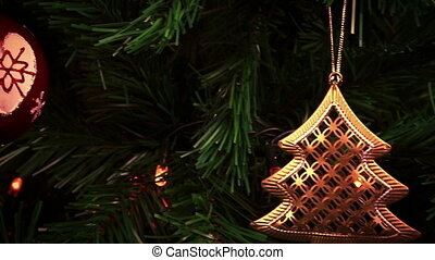 christmas decorations holiday christmas tree background...