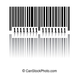 Bar code Vector illustration