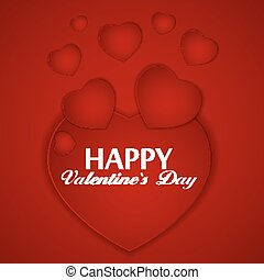 St Valentines Day Greeting Card Vector Illustration EPS10