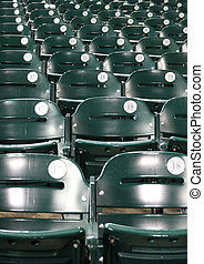 stadium baseball, seats