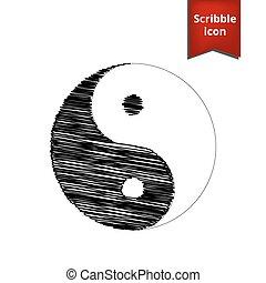 Ying yang symbol of harmony