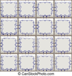 delft tiles seamless
