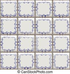 delft tiles seamless