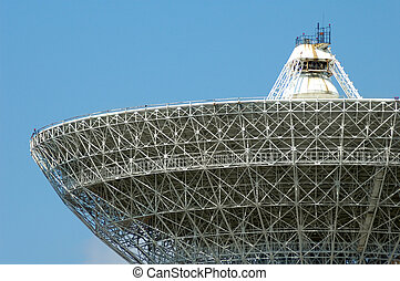 Porabolic Dish - Porabolic dish at space control center...