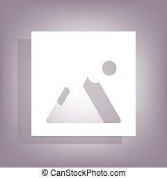 Image icon with shadow