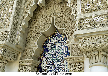 architettura, marocchino