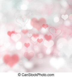 Abstract valentine Background. - Abstract valentine heart...