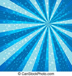 Radial Speed Lines Star Background - Vector illustrator EPS...