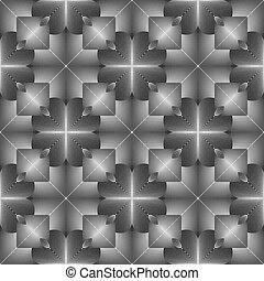 Design seamless geometric pattern. Abstract monochrome lines...