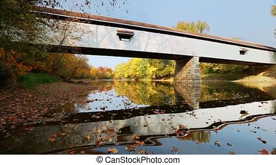 Potter Covered Bridge Autumn Loop - Loop features Potters...