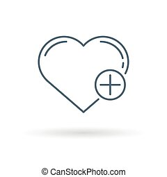 Healthy heart icon white background