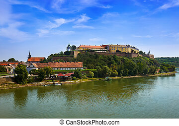 Petrovaradin fortress in Novi Sad - Serbia - architecture...