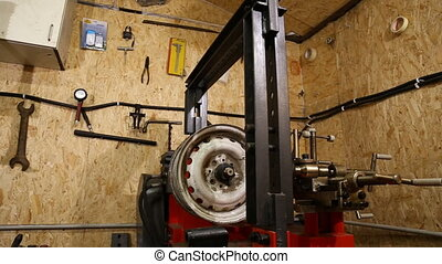 tire fitting station equipment - diverse equipment Tire...