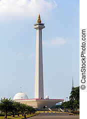 National Monument in Jakarta - National Monument in the...
