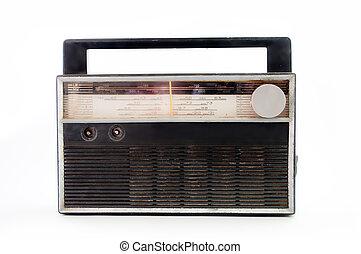 Old radio .
