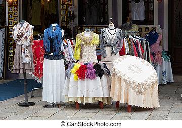 Showcase souvenir shop on Burano, Venice