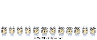 警報,  12, 時計, 時