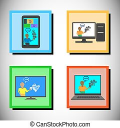 Concept of Online training - Concept of Online technology...