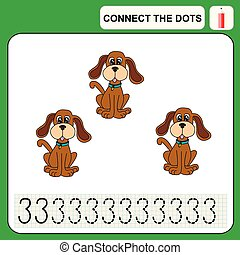 0116_9 connect the dots - Connect the dots, preschool...