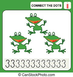 0116_10 connect the dots - Connect the dots, preschool...
