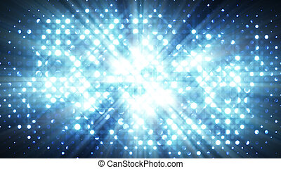 blue lights disco wall abstract background - blue lights...